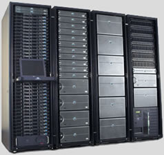 Storage Area Network Array Photo