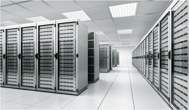 Photo of Cloud Computing Servers In Colocation