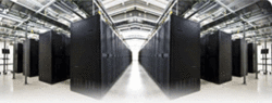 Cloud Hosting Services depicted by a Data Storage Array Photo