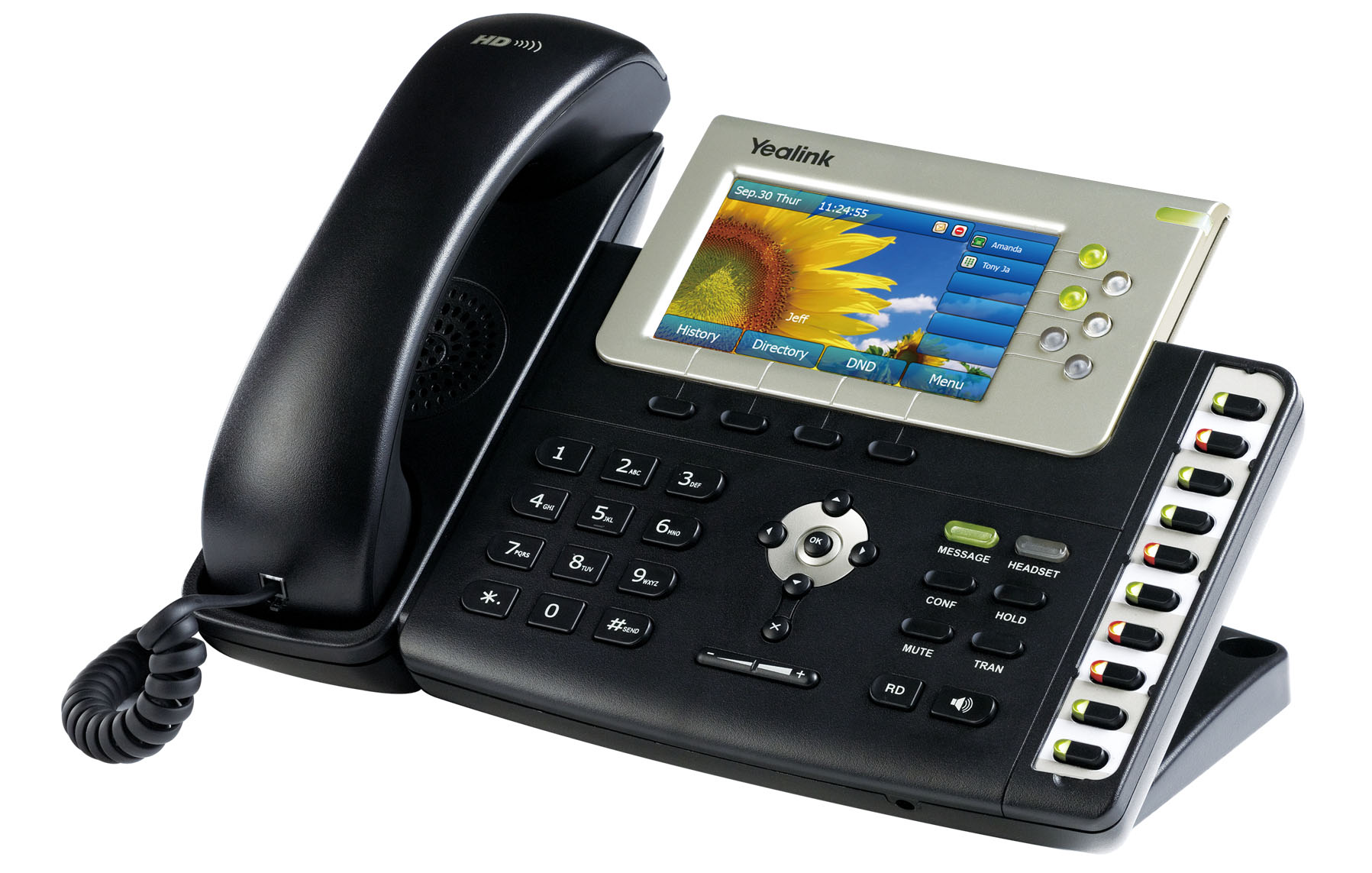 This is a photo of a VoIP Internet Phone.